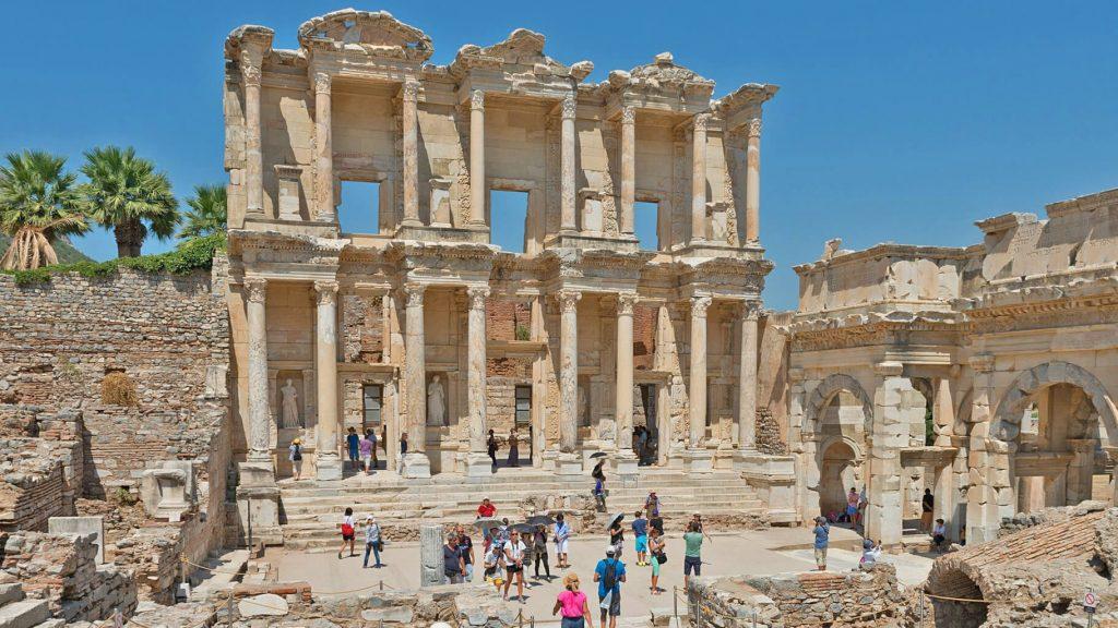 De Bibliotheek van Efese